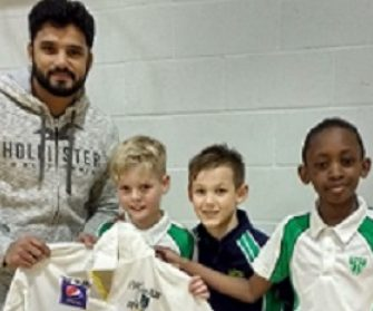 Azhir Ali Cricket Shirt Presentation 4