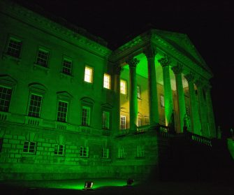 Mansion Goes Green For Mitoaware