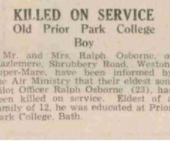 Ralph Osborne Ww2