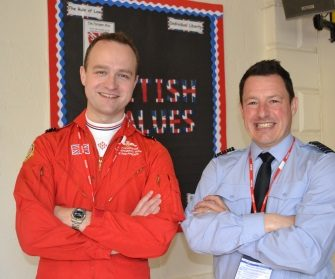 Red Arrows At The Paragon School Preview Page